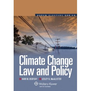 Climate Change and the Law ENV5212