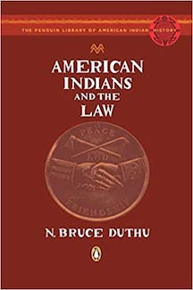 Native Americans & the Law DIV7620