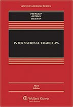 INT7428 Trade Law Policy - Teachout