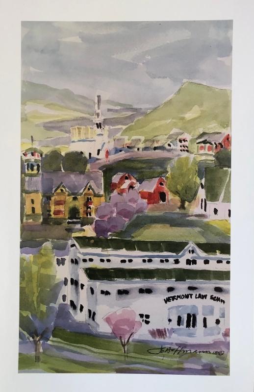 Joan Hoffmann Print - South Royalton