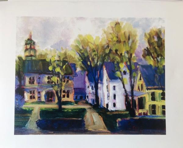 Joan Hoffmann Print - Debevoise Hall, VLS