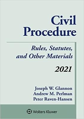Civil Procedure Statutes 2021 - REQUIRED