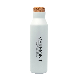 Water Bottle with Cork Lid