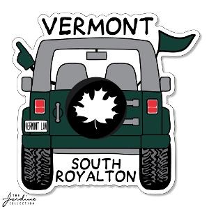Jeep Vermont Sticker