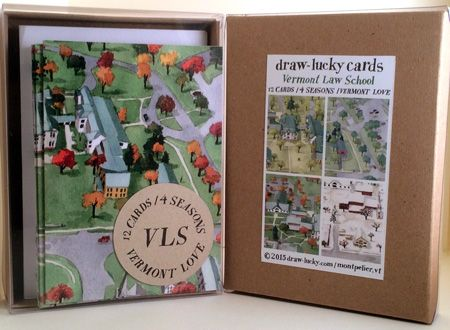 Set of Cards by local artist Hannah Morris