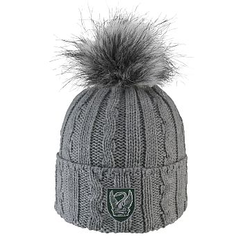 Knit Hat with Pom-Pom