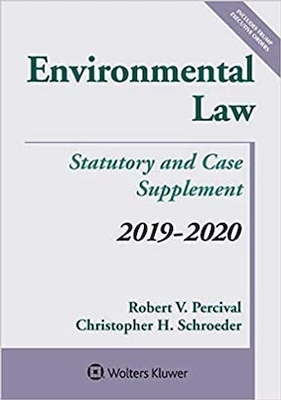 Environmental Law Statutory and Case Supplement 19-20