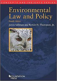 Environmental Law and Policy • 5th