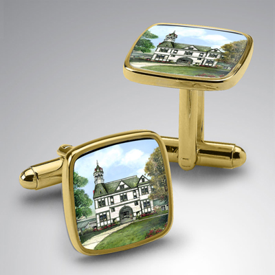 Eglomise Cuff Links