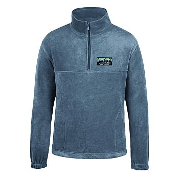 Quarter Zip Skyline - Grey