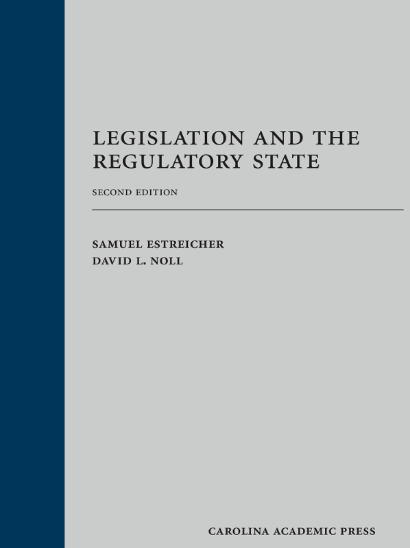 Legislation and the Regulatory State 2nd edition