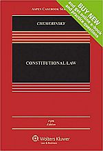 Constitutional Law 5th edition USED