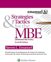 Strategies & Tactics for the MBE 7th edition - RECOMMENDED BOOK