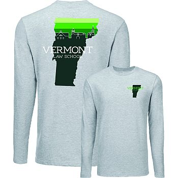 T-Shirt Skyline Long Sleeve Light Grey