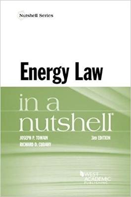Energy Law In A Nutshell 3E