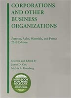 Corporations and other Business Org Supplement 2020