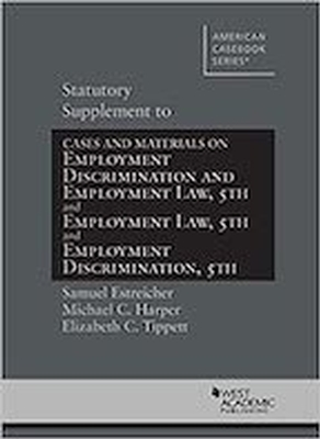 Statutory Supplement to Employment Law 5e