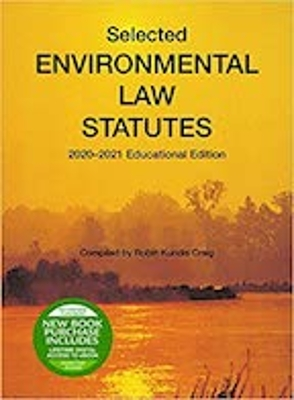Selected Env Law Statutues 2020-2021