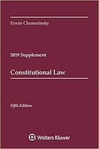 Constitutional Law Supplement 2019