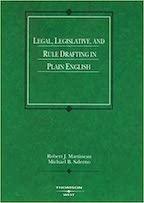 Legal, Legislative and Rule Drafting