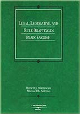 Legal, Legislative and Rule Drafting
