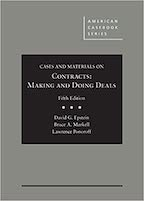 Cases and Materials on Contracts 5e
