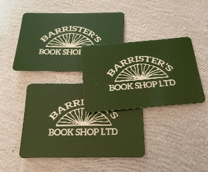 Barristers Book Shop Gift Card $25