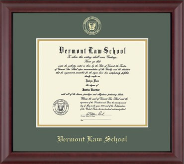 Embossed Edition Cambridge Frame with Black or Green Mat