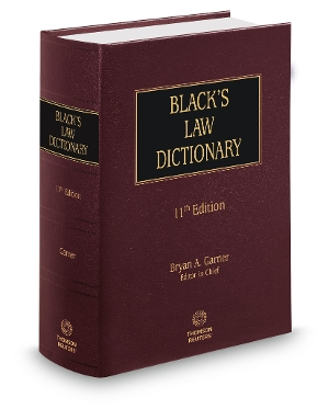 Blacks Law Dictionary 11th Edition
