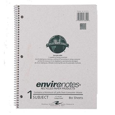 Environotes Sustainability Notebooks