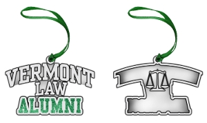 Pewter Holiday Ornament - Alumni