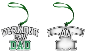 Pewter Holiday Ornament - Dad