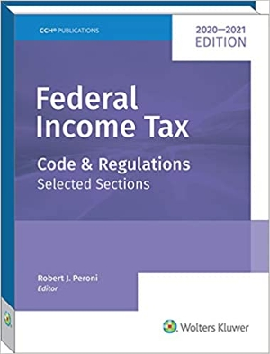 Federal Income Tax: Code and Regulations -- Selected Sections (2020-2021)