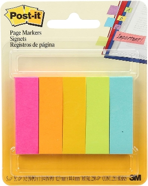 Post-it Page Markers 500 Count