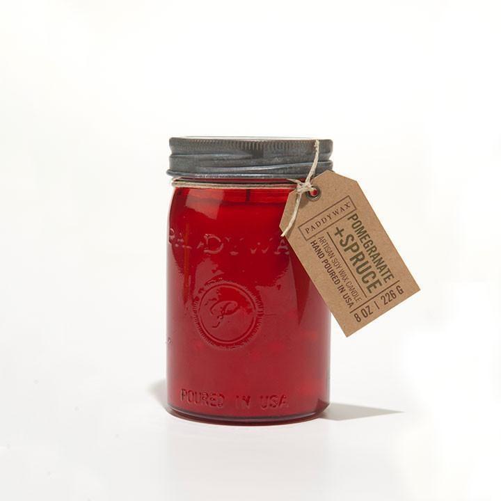 Pomegranate + Spruce