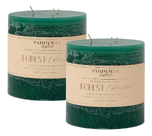 Large 3-wick Candle in Forest