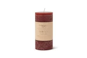 Crimson Collection Scented Pillar Candle
