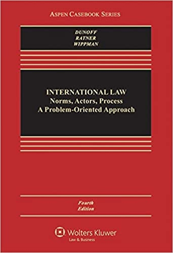 International Law Norms Actors Proces 4E