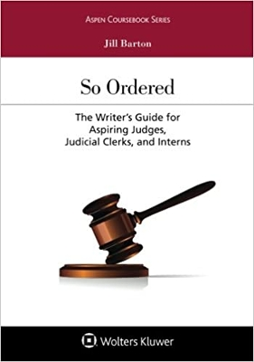 So Ordered: The Writers Guide For Aspi
