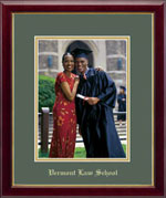 Embossed Photo Edition in Galleria Frame-Vertical Green Mat