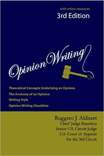 Opinion Writing 3E