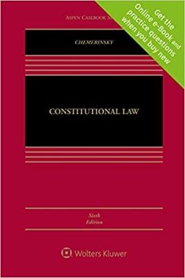 Constitutional Law 6e