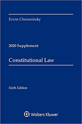 Contstitutional Law 2020 Supplement
