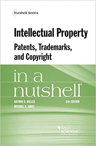 Intellectual Property Nutshell 6e