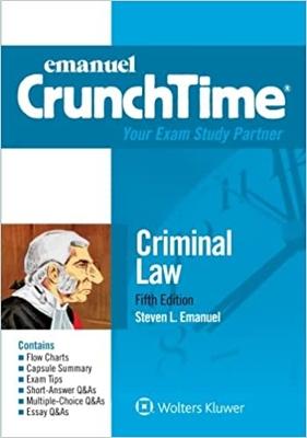 CrunchTime - Criminal Law