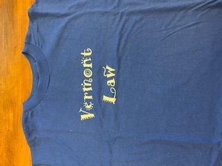 Youth Vermont Law Tee - Royal Blue