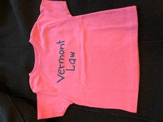 Vermont Law Infant Tee - Hot Pink