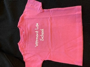 Vermont Law School Infant Tee - Pink