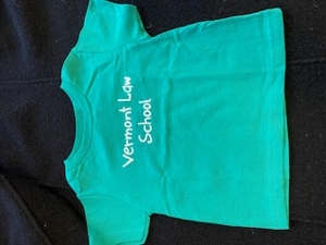 Vermont Law School Infant Tee - Dark Forest Green