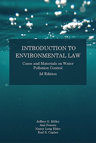 Introduction to Environmental Law, 2e